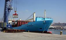 La nueva línea de contenedores del puerto transporta en tres meses 25.000 toneladas
