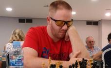 El hueteño Javi Gámiz, único representante granadino en el XXI Open de Ajedrez para ciegos y deficientes visuales