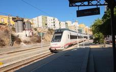 Renfe iniciará el transporte de viajeros desde Huércal el 14 de noviembre por las obras ferroviarias del Puche