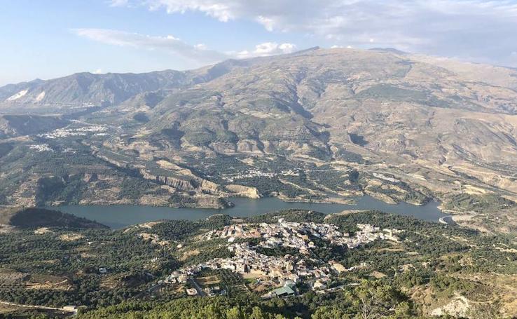 Vistas del Valle de Lecrín