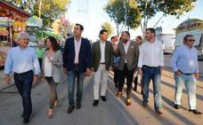 Juanma Moreno destaca el potencial de la provincia y aboga por un «Plan Jaén»