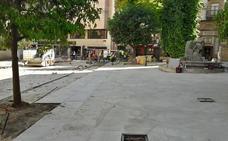El Ayuntamiento mantiene el final de las obras en Deán Mazas para antes de la Feria