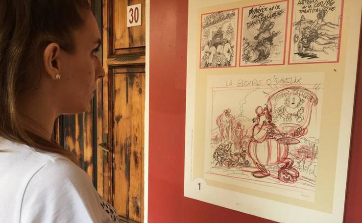 Astérix y Obélix llegan a la Escuela de Artes, ¡por tutatis!