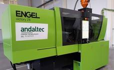 Andaltec adquiere una inyectora para ampliar su capacidad de diseño y desarrollo de plásticos técnicos