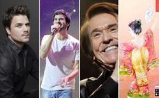 Raphael, Taburete, Dani Martín y la cultura japonesa inauguran el mes de octubre en Granada