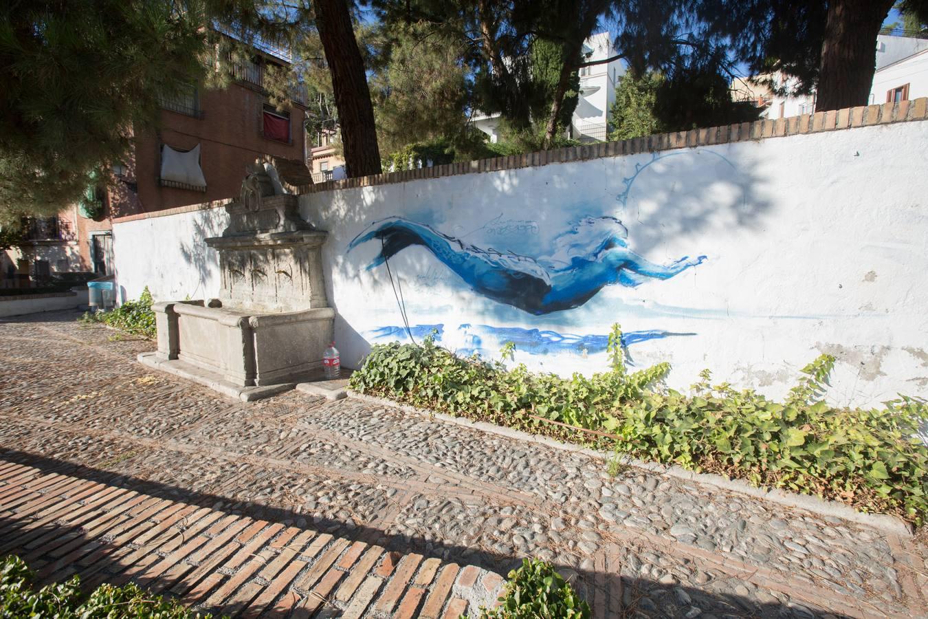 Grafiti en la Cuesta de la Escoriaza