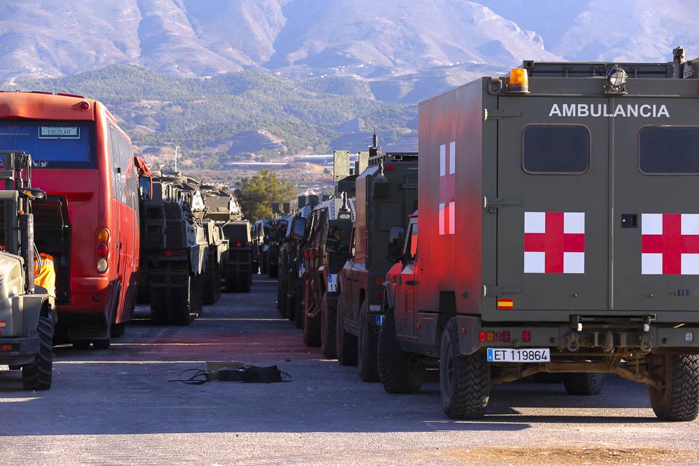 Una treintena de tanques saldrán desde el puerto de Motril a Noruega