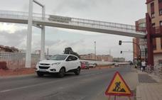 Cortan Sierra Alhamilla en sentido al centro de la ciudad por las obras