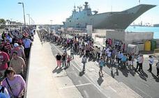 Más de 12.000 personas ya se han inscrito para visitar el portaaeronaves Juan Carlos I
