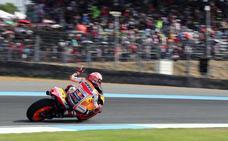 Márquez toma ventaja en Buriram ante una carrera muy abierta