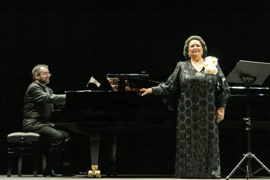 Las actuaciones de Montserrat Caballé en Granada