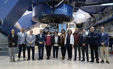 La Junta destinará 1,5 millones euros al Observatorio de Calar Alto en 2019