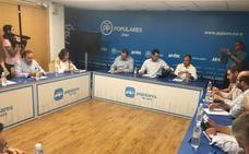 El PP de Jaén se reúne con representantes del sector agrícola para llevar sus demandas al Parlamento andaluz