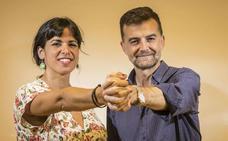 Teresa Rodríguez y Antonio Maíllo: «Estamos en nuestro mejor momento»