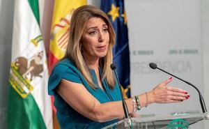 Susana Díaz: «Andalucía no merece la inestabilidad que hay en el resto de España»