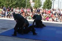 Jornada de puertas abiertas de la Guardia Civil en Jaén con motivo de la festividad del Pilar