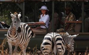 El safari de la primera dama