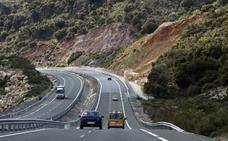 Fomento realiza obras de emergencia en el viaducto de Huétor Santillán de la A-92