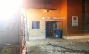 Incendio en la lavandería del hospital de Traumatología en Granada