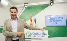 Moreno plantea las elecciones en clave de referéndum: «Llegar a los 44 años con el PSOE o un cambio a mejor»