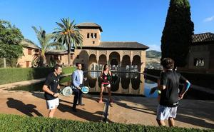 El World Padel Tour pisa la Alhambra