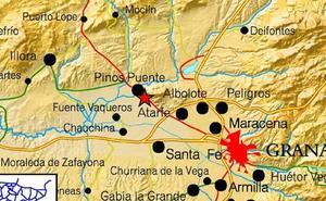 Hasta 7 terremotos se registraron este martes en Granada