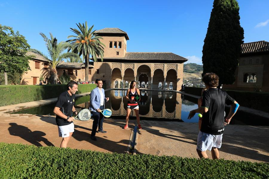 Presentación del World Padel Tour Granada Open 2018