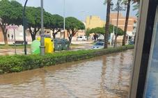 La lluvia provoca una quincena de alertas por inundaciones en Poniente, Levante y la capital