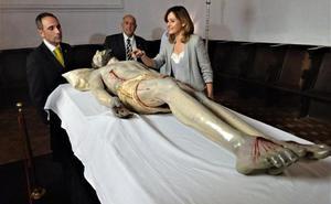 La restauración del Descendimiento lo sitúa como una de las tallas más antiguas de la Semana Santa