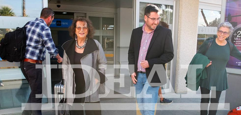 Claudia Cardinale vuelve a Almería