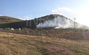 Extinguido un incendio forestal en un paraje de Cúllar