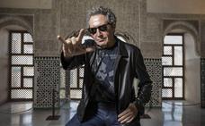 Miguel Ríos presenta su próximo concierto en Granada: «Todavía tengo las cuerdas vocales en su sitio»