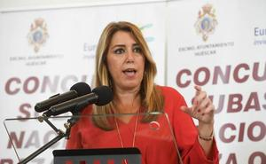 Susana Díaz pide a Casado que se tranquilice y sustituya el ruido por propuestas
