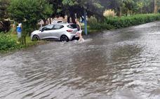 Plan de Emergencia en Málaga por una tromba de agua que ha dejado 260 incidencias