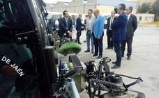 La nueva maquinaria de FCC en Jaén apuesta por el respeto al medio ambiente y las nuevas tecnologías