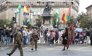 Estos son los cortes de tráfico previstos en Granada para el Día de la Hispanidad