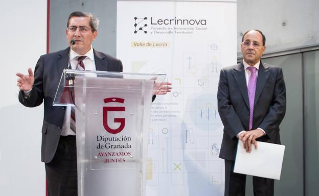 Presentación de Lecrinnova, este jueves./Jorge Pastor