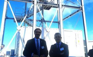 Aportación jienense en el nuevo telescopio en La Palma