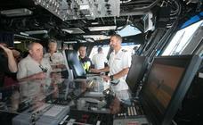 El interior del portaviones Juan Carlos I, en imágenes