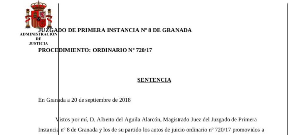 Un juzgado anula una operación bancaria de 1,4 millones de euros que arruinó a unos ancianos en Granada