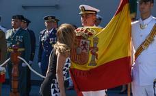 Encuéntrate en la gran jura de bandera en Motril