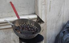 Llegan las castañas asadas a Granada pese al calor
