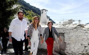 Susana Díaz pide en Pampaneira abandonar los «vetos» para hablar de lo que quieren los andaluces