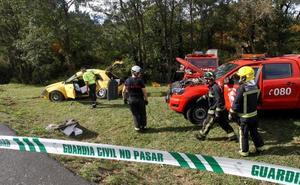 Mueren en un accidente de tráfico tres chicos que no llevaban el cinturón de seguridad