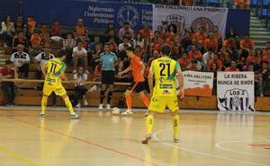 El Jaén Paraíso Interior FS paga sus errores con un empate en casa del Aspil Vidal
