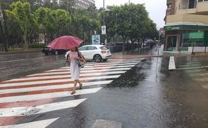 Aviso amarillo por tormentas en Almería y provincia para este domingo
