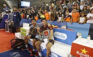 Cristian Gutiérrez y 'Stupa' se proclaman épicos campeones del Granada Open
