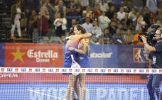 Lucía Sainz y Gemma Triay repiten victoria en el Open de Granada