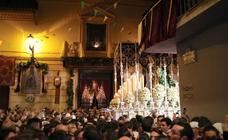 La Virgen de la Esperanza, soberbia y gloriosa en la Catedral de Granada