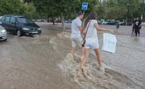 Aviso amarillo por tormentas en Granada y provincia para este domingo
